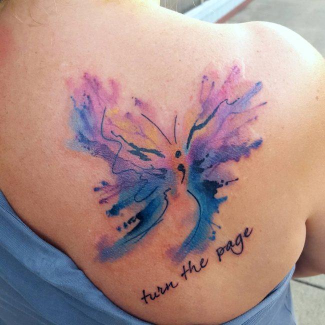 semicolon tattoo32