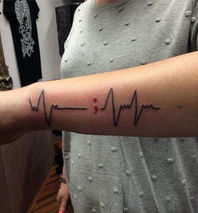 semicolon tattoo33