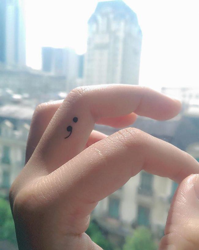 semicolon tattoo6
