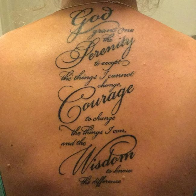 serenity prayer tattoo17