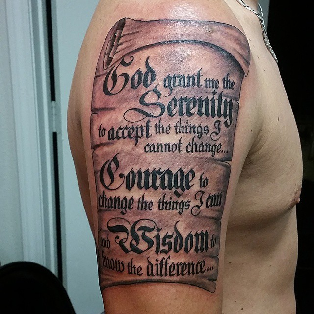 serenity prayer tattoo28