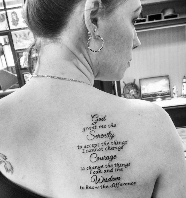 serenity prayer tattoo9