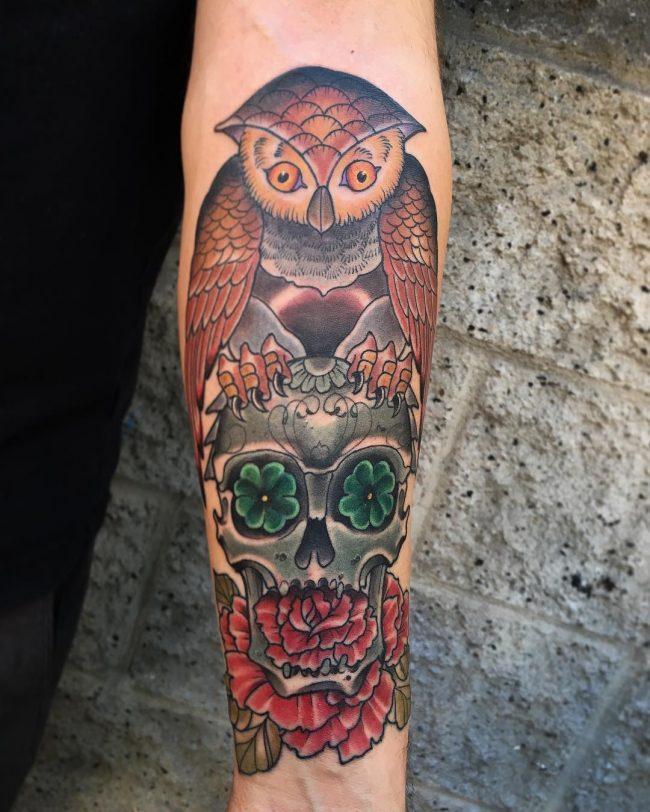 shamrock tattoo12