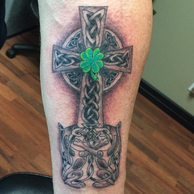 shamrock tattoo17