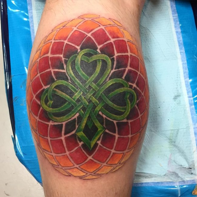 shamrock tattoo18
