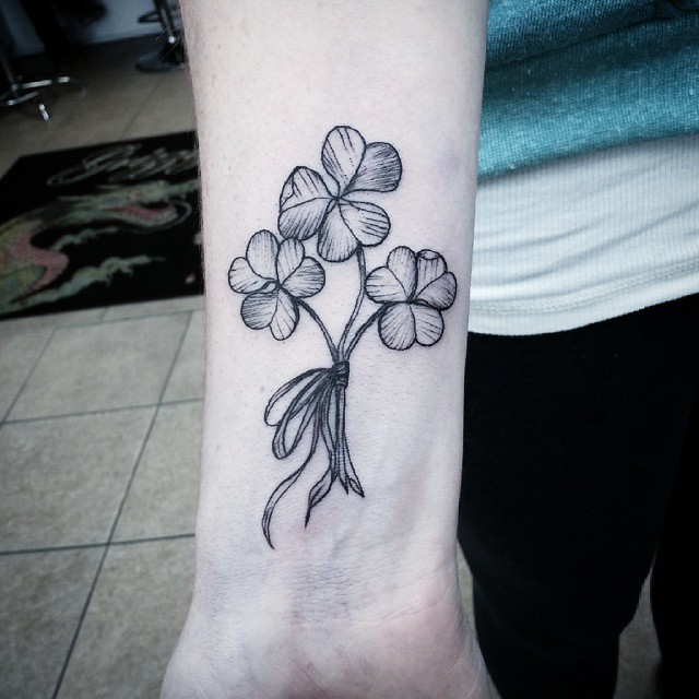 shamrock tattoo19