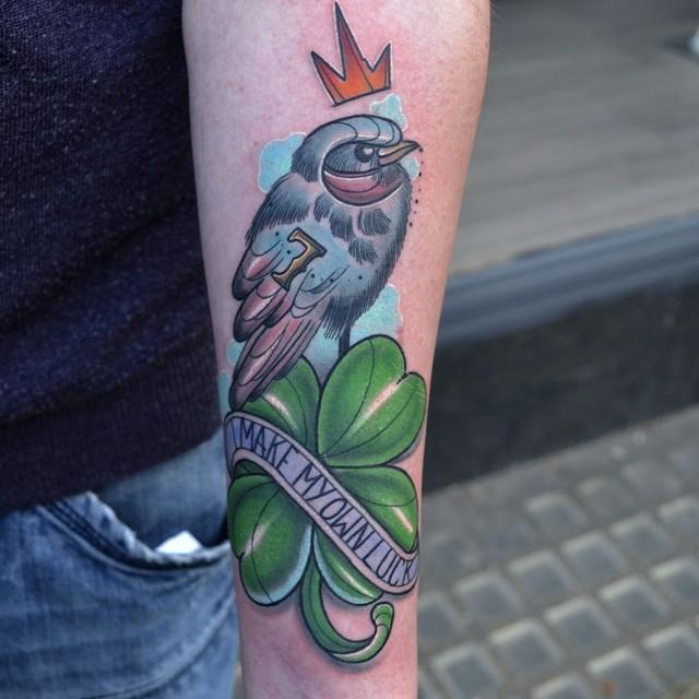 shamrock tattoo22