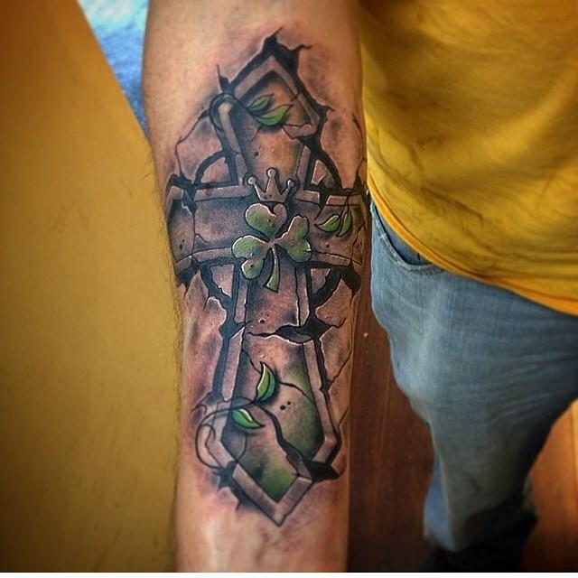 shamrock tattoo23