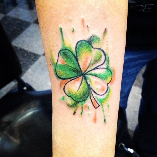 shamrock tattoo24