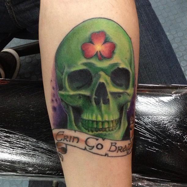 shamrock tattoo26