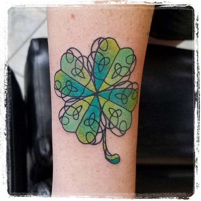 shamrock tattoo27