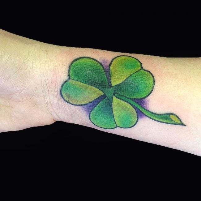 shamrock tattoo3