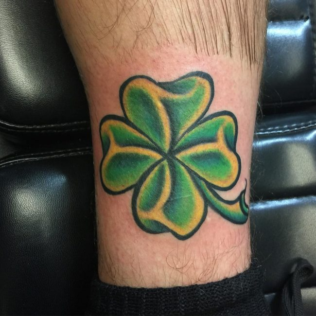 shamrock tattoo30