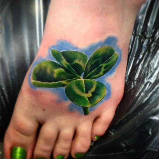shamrock tattoo31