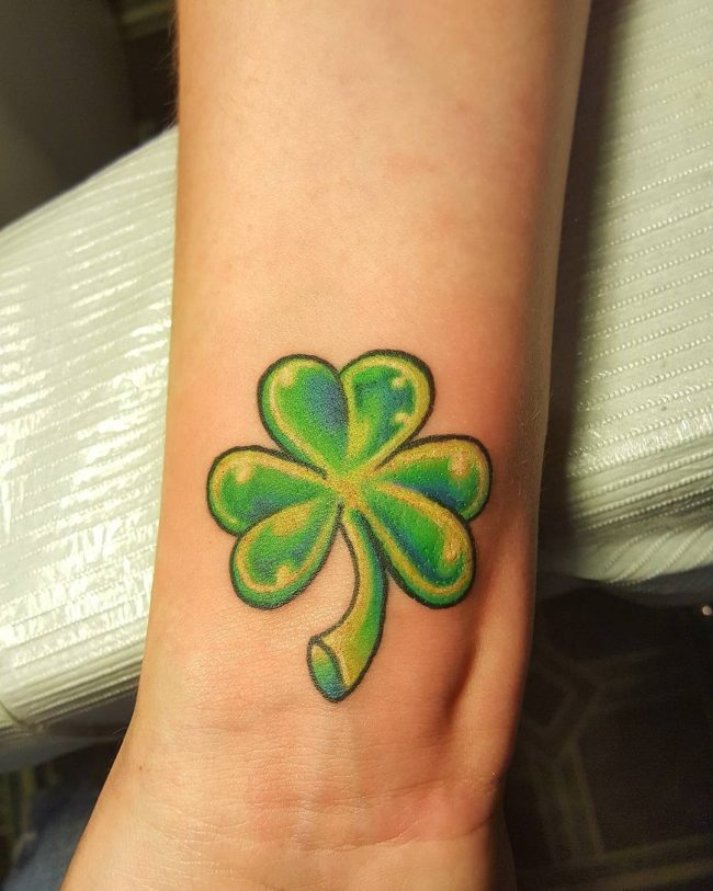 shamrock tattoo32