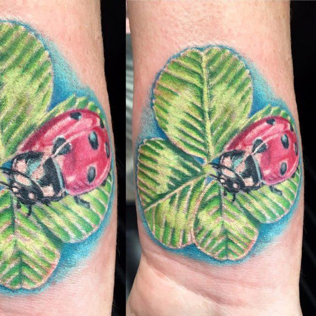 shamrock tattoo34