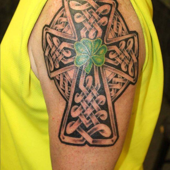 shamrock tattoo39