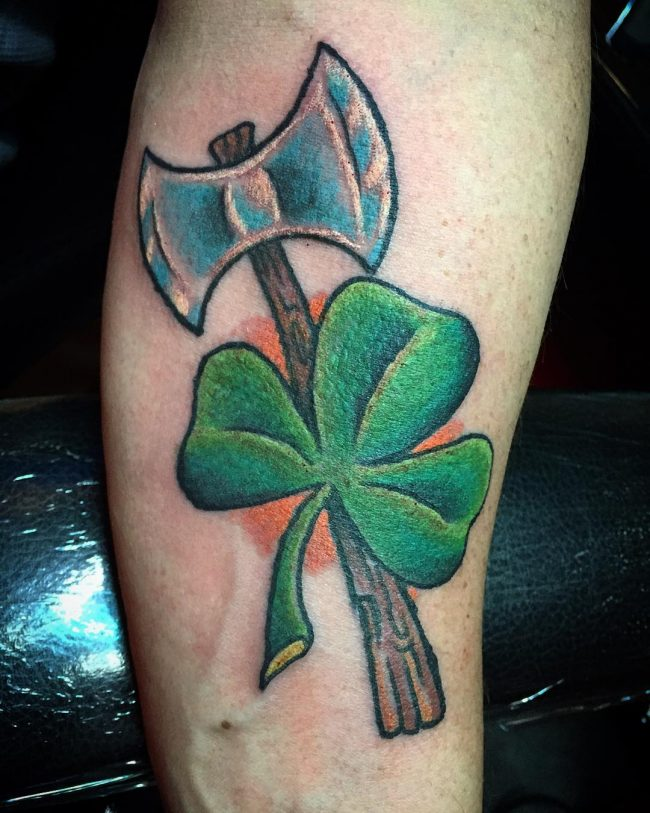 shamrock tattoo40
