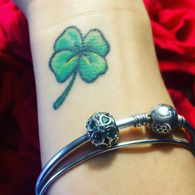shamrock tattoo6