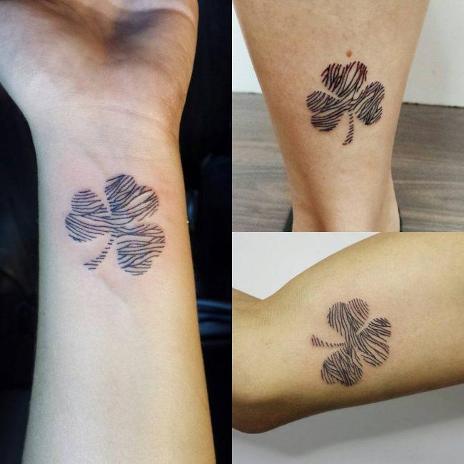 shamrock tattoo8