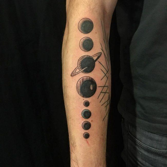 solar system tattoo28