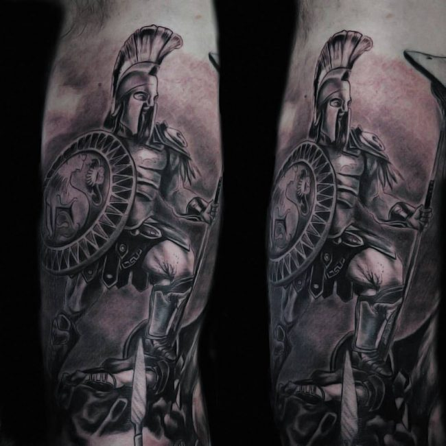 spartan tattoo10