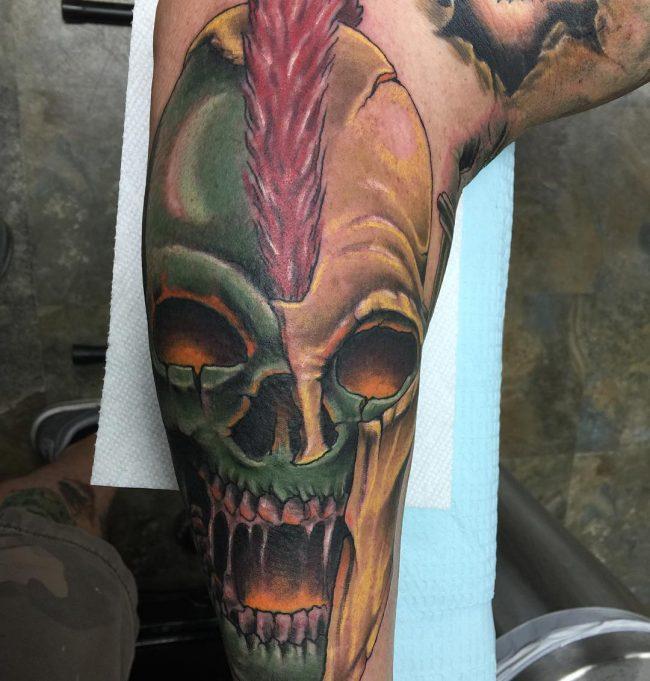 spartan tattoo12