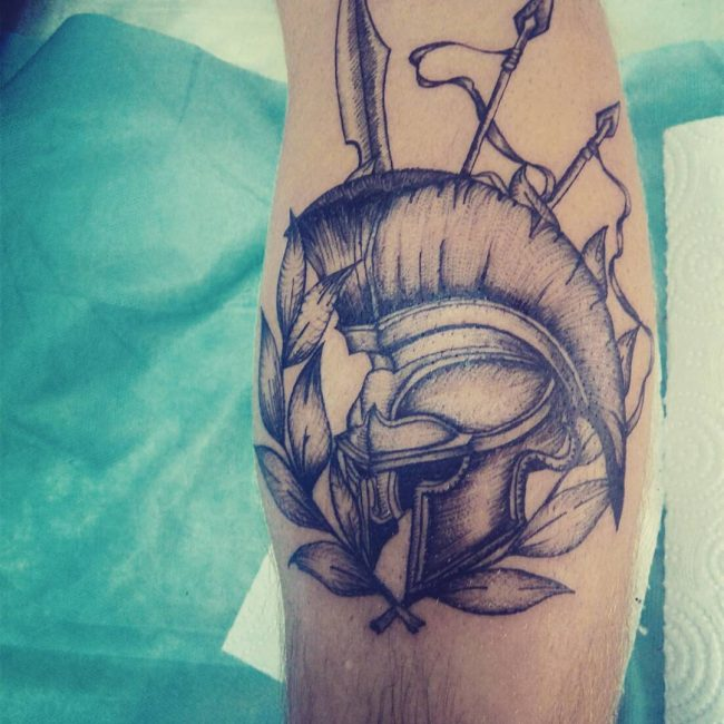 spartan tattoo13