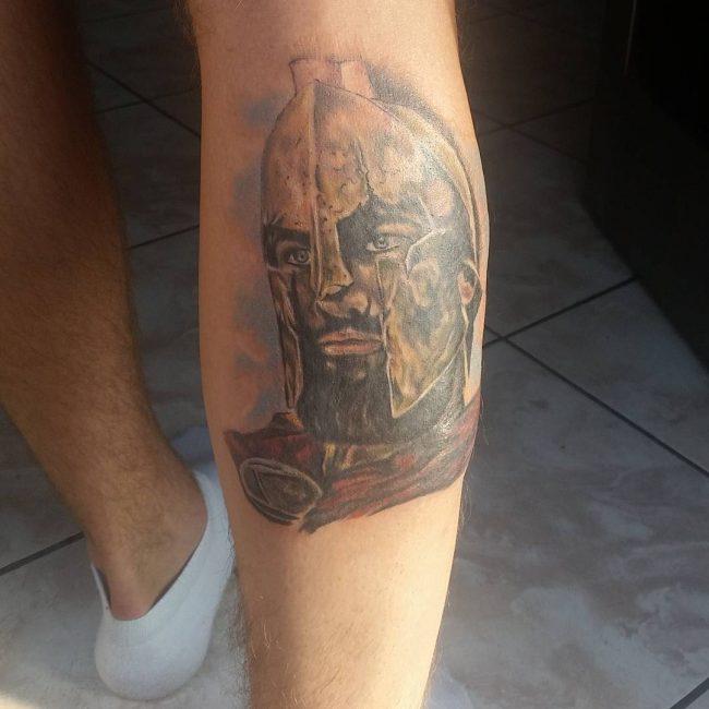 spartan tattoo15