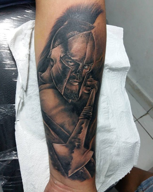 spartan tattoo16