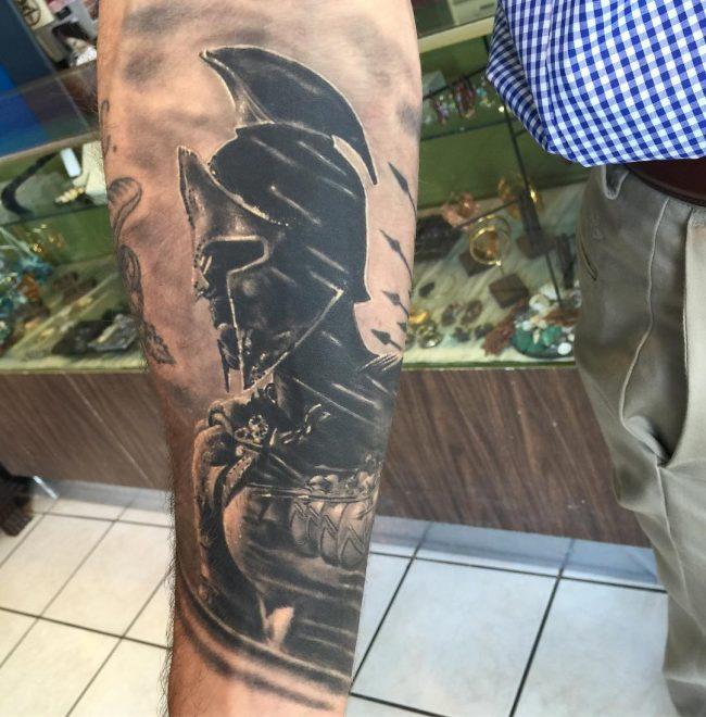 spartan tattoo18