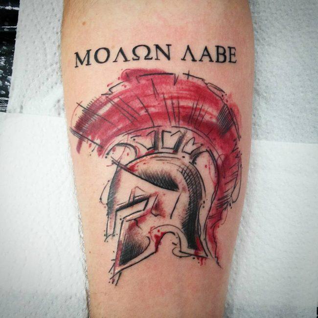spartan tattoo19