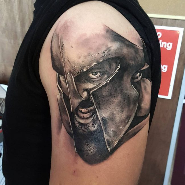 spartan tattoo2