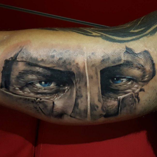spartan tattoo22