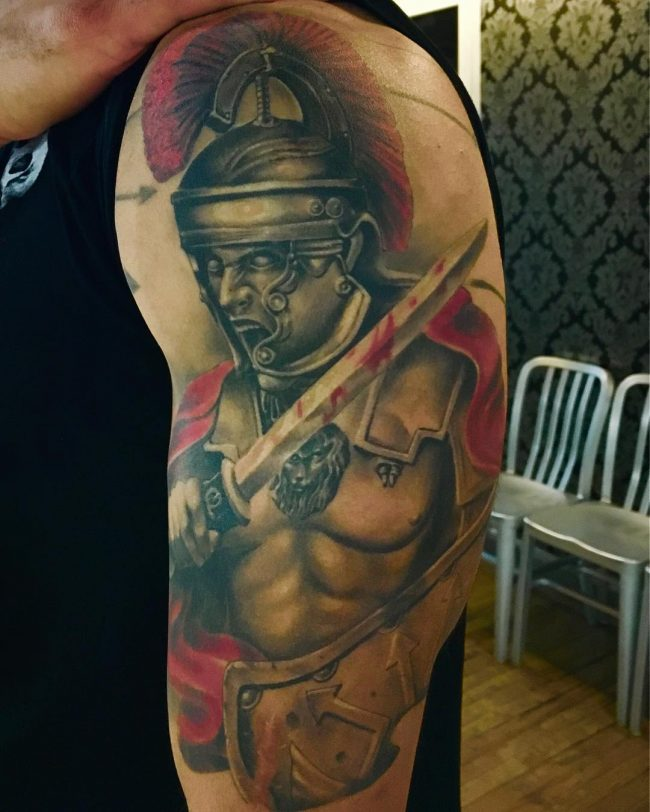 spartan tattoo23