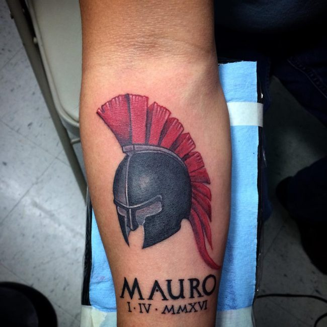 spartan tattoo24