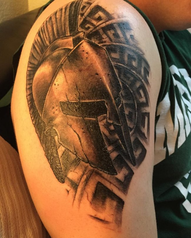 spartan tattoo26