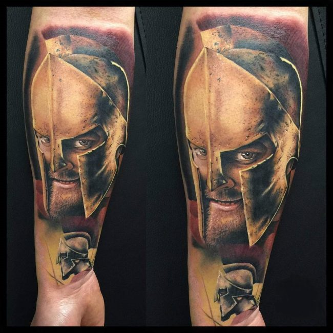 spartan tattoo28