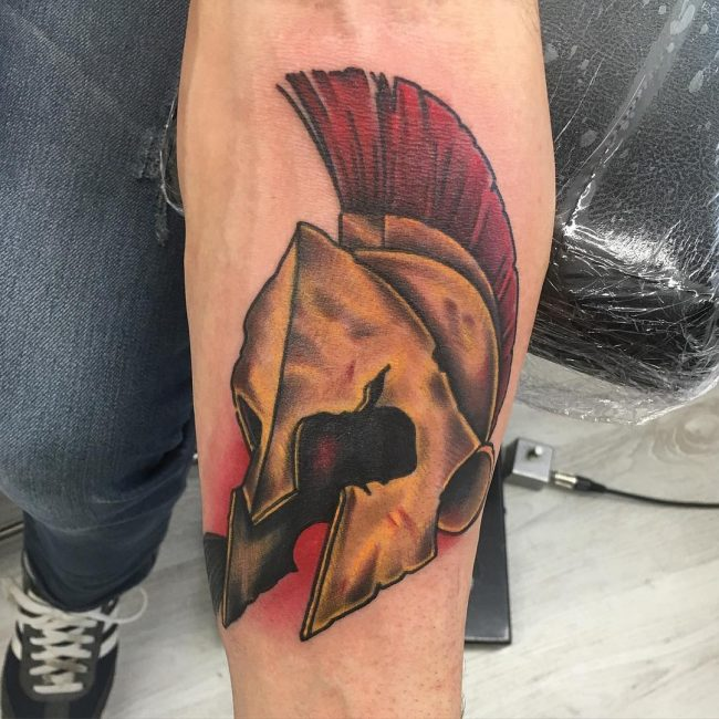 spartan tattoo30