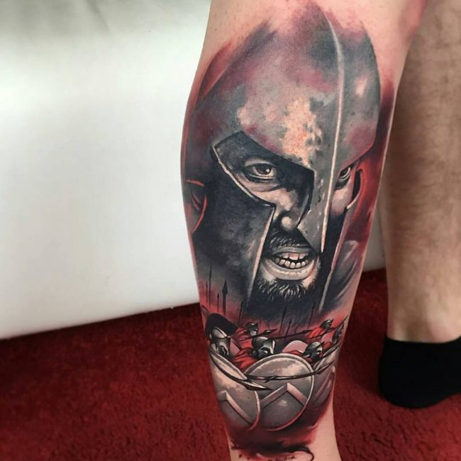 spartan tattoo32