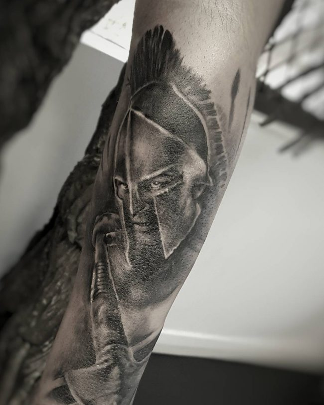 spartan tattoo34