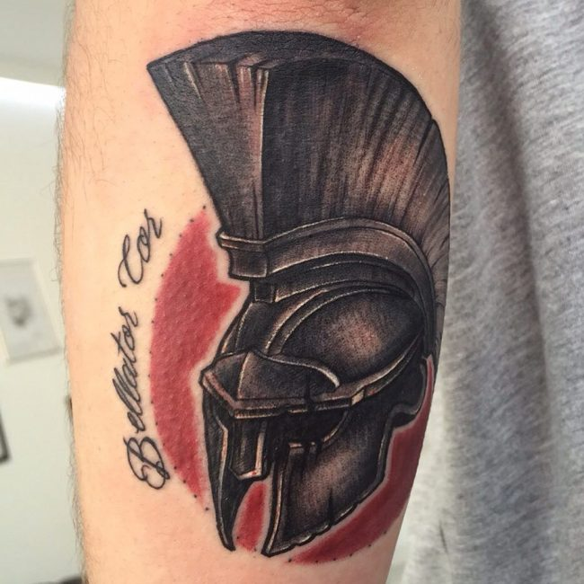 spartan tattoo35