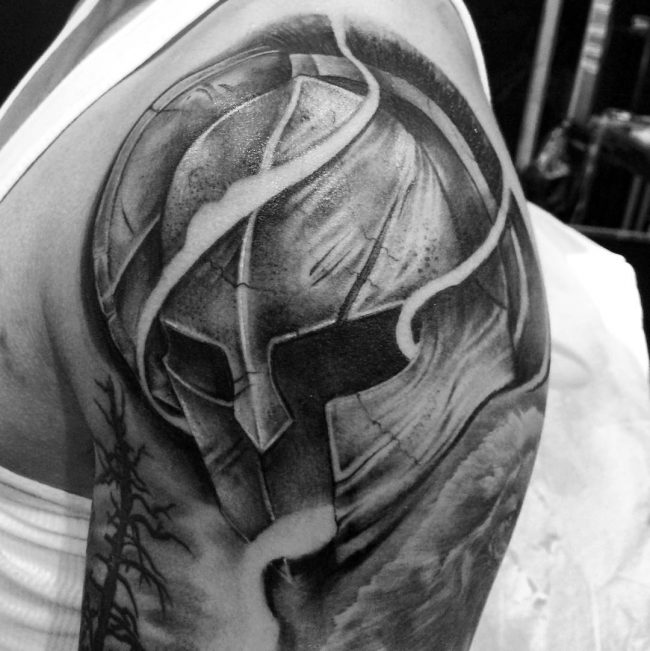 spartan tattoo38