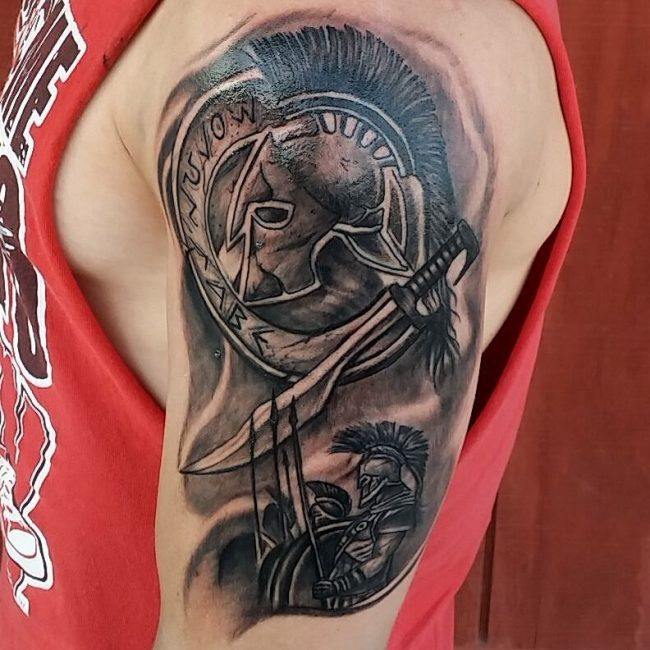 spartan tattoo4