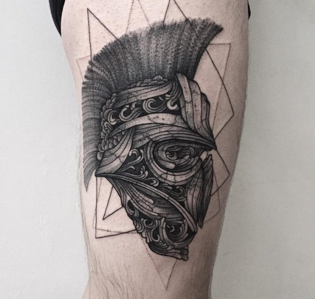 spartan tattoo41