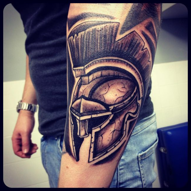 spartan tattoo42