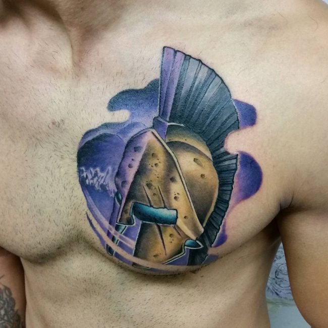 spartan tattoo43