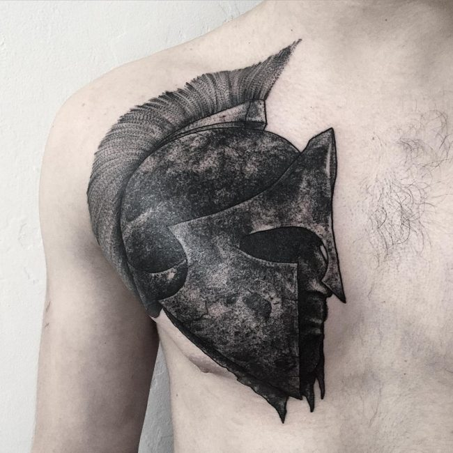 spartan tattoo44