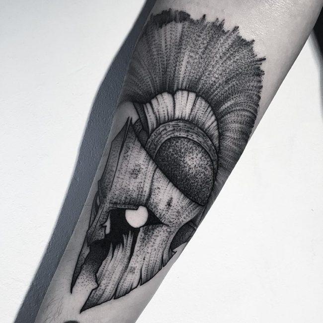 spartan tattoo45