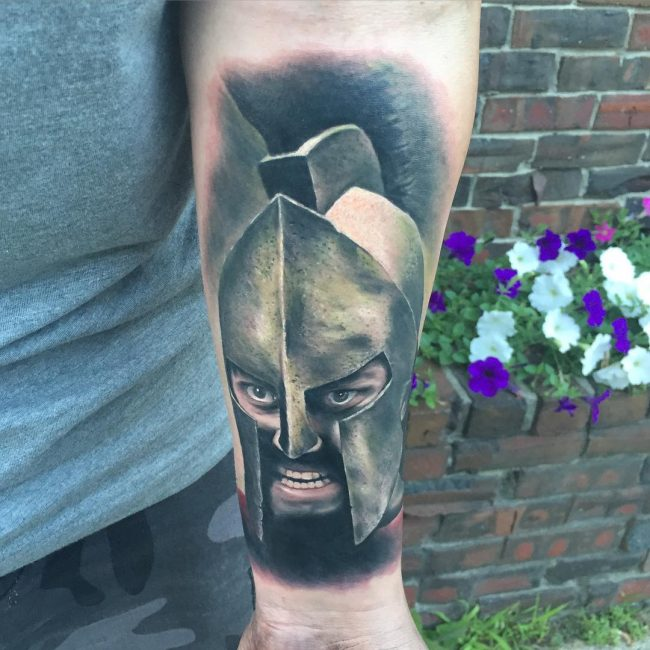 spartan tattoo46